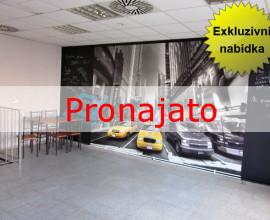 Exkluzivní pronájem prostoru pro kavárnu, bar nebo hernu, Praha 4 Michle