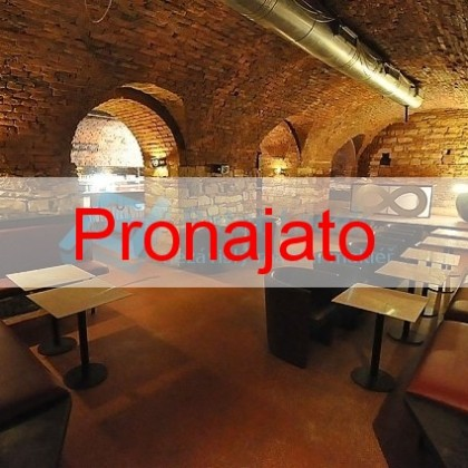Pronájem prostoru pro bar, klub, disco, bowling, 450m2, Praha 5, Nádražní