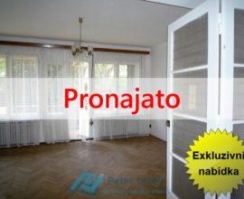 Exkluzivně pronájem prostorného bytu 4+1, 130m2, Praha 5 Smíchov, ul. U Blaženky